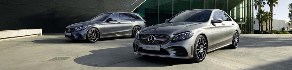 Mercedes tjänstebil C-Klass