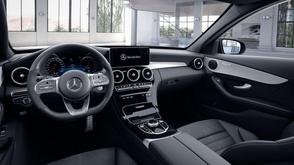 Kalmar Bilcentrum Mercedes-Benz AMG night laddhybrid